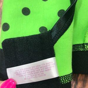 Cacique Intimates & Sleepwear - Cacique 42DDD Green Black Polka Dot Bra